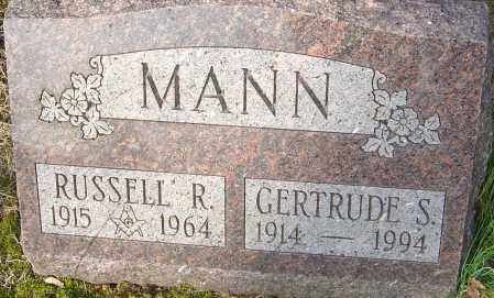 MANN, GERTRUDE - Franklin County, Ohio | GERTRUDE MANN - Ohio Gravestone Photos