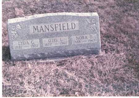 CLAFFEY MANSFIELD, LYDIA - Franklin County, Ohio | LYDIA CLAFFEY MANSFIELD - Ohio Gravestone Photos