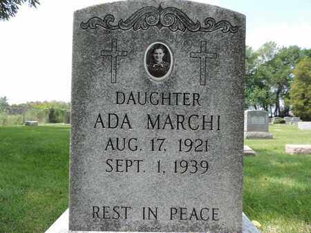 MARCHI, ADA - Franklin County, Ohio | ADA MARCHI - Ohio Gravestone Photos