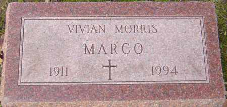 MARCO, VIVIAN - Franklin County, Ohio | VIVIAN MARCO - Ohio Gravestone Photos