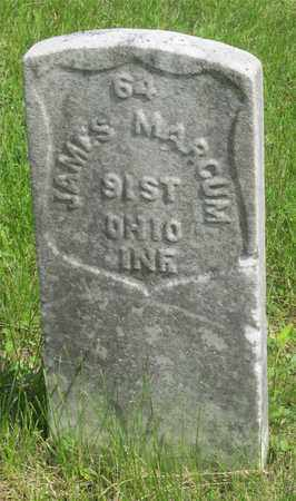 MARCUM, JAMES - Franklin County, Ohio | JAMES MARCUM - Ohio Gravestone Photos