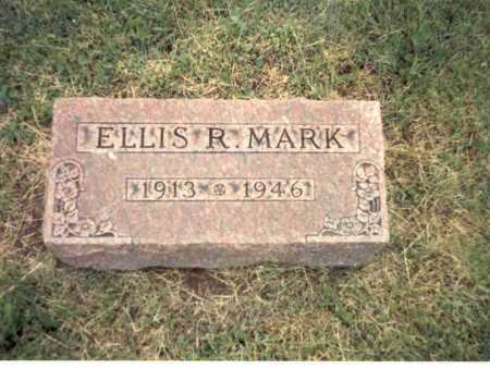 MARK, ELLIS R. - Franklin County, Ohio | ELLIS R. MARK - Ohio Gravestone Photos
