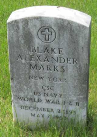 MARKS, BLAKE ALEXANDER - Franklin County, Ohio | BLAKE ALEXANDER MARKS - Ohio Gravestone Photos