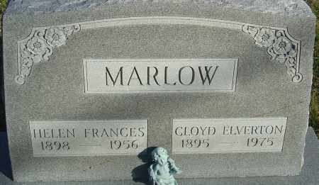 MARLOW, CLOYD ELVERTON - Franklin County, Ohio | CLOYD ELVERTON MARLOW - Ohio Gravestone Photos