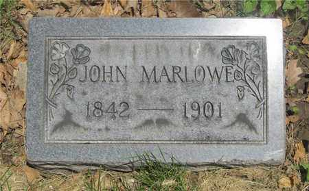 MARLOWE, JOHN - Franklin County, Ohio | JOHN MARLOWE - Ohio Gravestone Photos