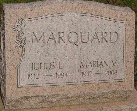 MARQUARD, JULIUS L - Franklin County, Ohio | JULIUS L MARQUARD - Ohio Gravestone Photos
