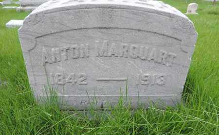 MARQUART, ANTON - Franklin County, Ohio | ANTON MARQUART - Ohio Gravestone Photos