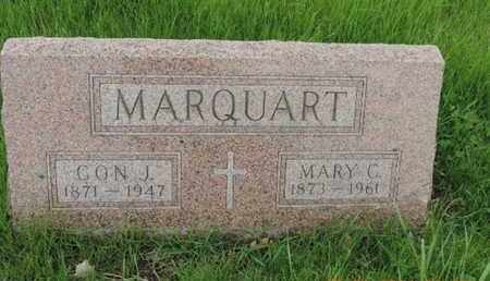 MARQUART, CON J - Franklin County, Ohio | CON J MARQUART - Ohio Gravestone Photos
