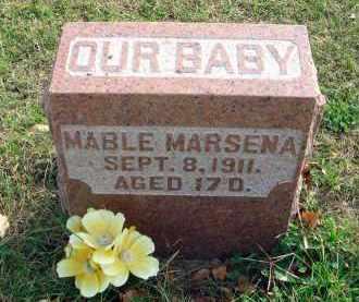 MARSENA, MABLE - Franklin County, Ohio | MABLE MARSENA - Ohio Gravestone Photos