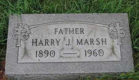MARSH, HARRY J - Franklin County, Ohio | HARRY J MARSH - Ohio Gravestone Photos