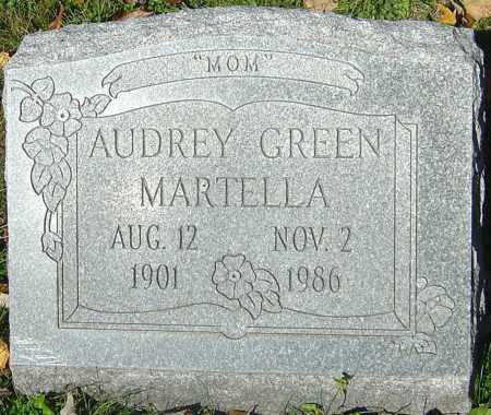 GREEN MARTELLA, AUDREY - Franklin County, Ohio | AUDREY GREEN MARTELLA - Ohio Gravestone Photos