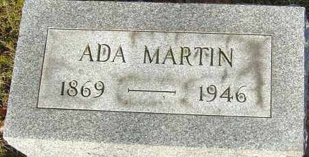 MARTIN, ADA - Franklin County, Ohio | ADA MARTIN - Ohio Gravestone Photos