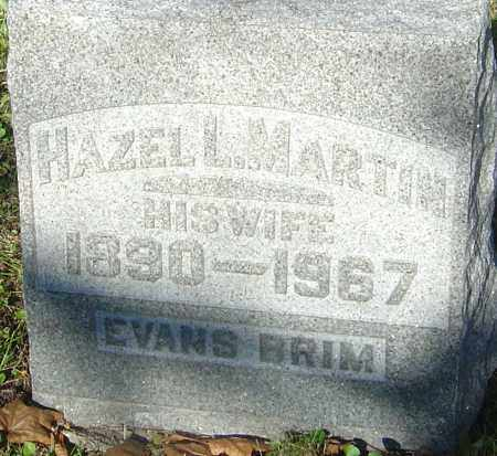 MARTIN BRIM, HAZEL L - Franklin County, Ohio | HAZEL L MARTIN BRIM - Ohio Gravestone Photos