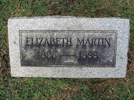 MARTIN, ELIZABETH - Franklin County, Ohio | ELIZABETH MARTIN - Ohio Gravestone Photos