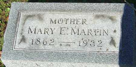 MARTIN, MARY E - Franklin County, Ohio | MARY E MARTIN - Ohio Gravestone Photos