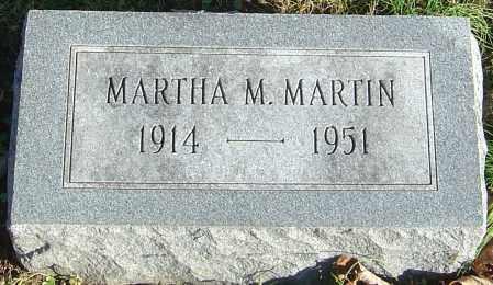 MARTIN, MARTHA MAUDE - Franklin County, Ohio | MARTHA MAUDE MARTIN - Ohio Gravestone Photos