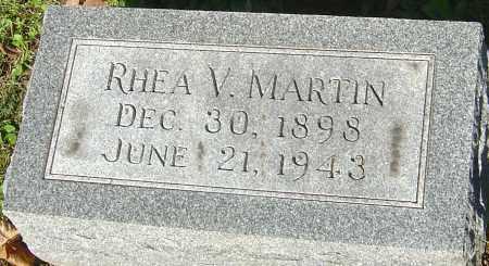 MARTIN, RHEA V - Franklin County, Ohio | RHEA V MARTIN - Ohio Gravestone Photos