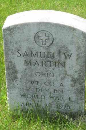 MARTIN, SAMUEL W. - Franklin County, Ohio | SAMUEL W. MARTIN - Ohio Gravestone Photos