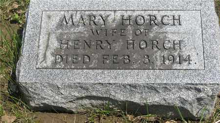 MARY, HORCH - Franklin County, Ohio | HORCH MARY - Ohio Gravestone Photos