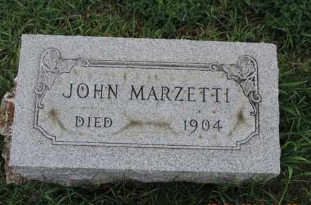 MARZETTI, JOHN - Franklin County, Ohio | JOHN MARZETTI - Ohio Gravestone Photos
