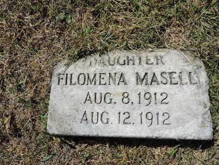 MASELL, FILOMENA - Franklin County, Ohio | FILOMENA MASELL - Ohio Gravestone Photos