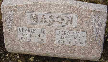 MASON, DOROTHY L - Franklin County, Ohio | DOROTHY L MASON - Ohio Gravestone Photos
