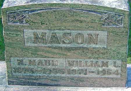 MASON, WILLIAM L - Franklin County, Ohio | WILLIAM L MASON - Ohio Gravestone Photos
