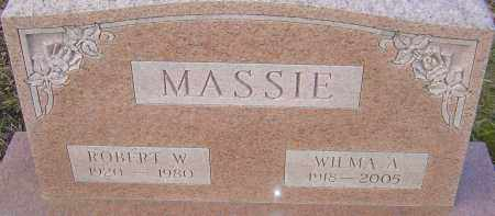 MASSIE, ROBERT - Franklin County, Ohio | ROBERT MASSIE - Ohio Gravestone Photos