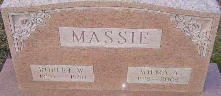 MASSIE, WILMA - Franklin County, Ohio | WILMA MASSIE - Ohio Gravestone Photos