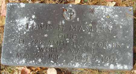 MASTERS, LEWIS H - Franklin County, Ohio | LEWIS H MASTERS - Ohio Gravestone Photos