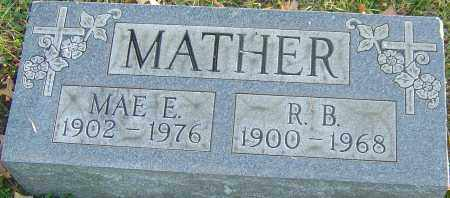 MATHER, R B - Franklin County, Ohio | R B MATHER - Ohio Gravestone Photos