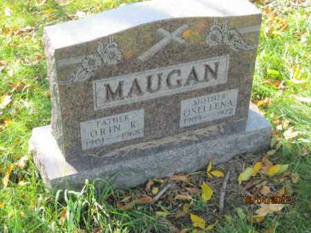 MAUGAN, ORIN ROBERT - Franklin County, Ohio | ORIN ROBERT MAUGAN - Ohio Gravestone Photos