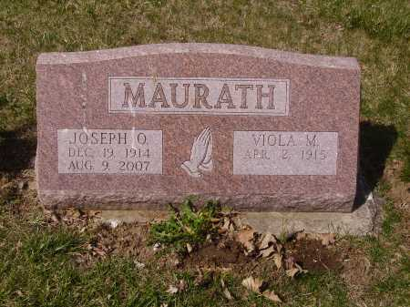 MAURATH, VIOLA M. - Franklin County, Ohio | VIOLA M. MAURATH - Ohio Gravestone Photos