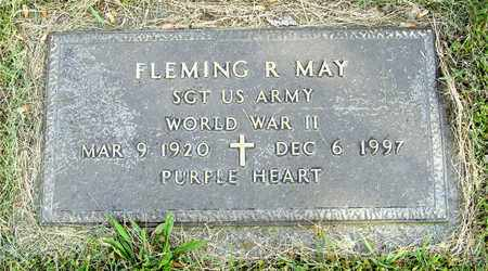 MAY, FLEMING R. - Franklin County, Ohio | FLEMING R. MAY - Ohio Gravestone Photos