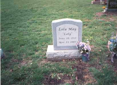MAY, LOLA - Franklin County, Ohio | LOLA MAY - Ohio Gravestone Photos