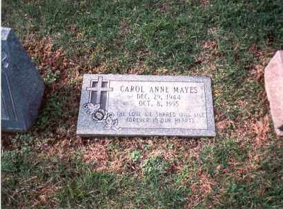 MAYES, CAROL ANNE - Franklin County, Ohio | CAROL ANNE MAYES - Ohio Gravestone Photos