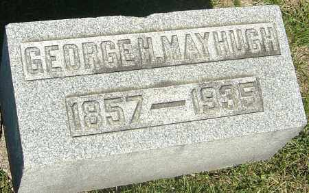 MAYHUGH, GEORGE H - Franklin County, Ohio | GEORGE H MAYHUGH - Ohio Gravestone Photos
