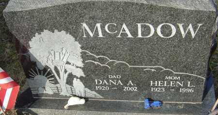 MCADOW, DANA - Franklin County, Ohio | DANA MCADOW - Ohio Gravestone Photos