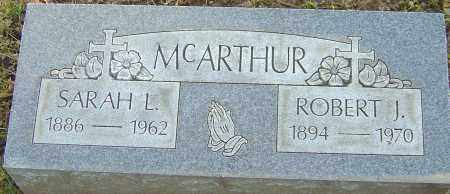 MCARTHUR, SARAH - Franklin County, Ohio | SARAH MCARTHUR - Ohio Gravestone Photos