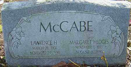 HEDGES MCCABE, MARGARET - Franklin County, Ohio | MARGARET HEDGES MCCABE - Ohio Gravestone Photos