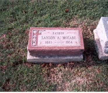 MCCABE, SANSON A. - Franklin County, Ohio | SANSON A. MCCABE - Ohio Gravestone Photos