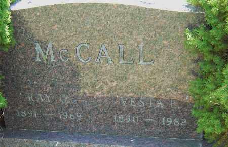 MCCALL, RAY C - Franklin County, Ohio | RAY C MCCALL - Ohio Gravestone Photos