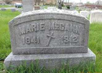 MCCANN, MARIE - Franklin County, Ohio | MARIE MCCANN - Ohio Gravestone Photos