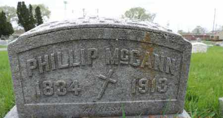 MCCANN, PHILLIP - Franklin County, Ohio | PHILLIP MCCANN - Ohio Gravestone Photos