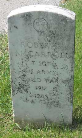 MCCARROLL, ROBERT - Franklin County, Ohio | ROBERT MCCARROLL - Ohio Gravestone Photos