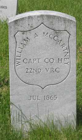 MCCARTNEY, WILLIAM A. - Franklin County, Ohio | WILLIAM A. MCCARTNEY - Ohio Gravestone Photos