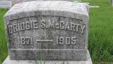 MCCARTY, BRIDGIE S - Franklin County, Ohio | BRIDGIE S MCCARTY - Ohio Gravestone Photos