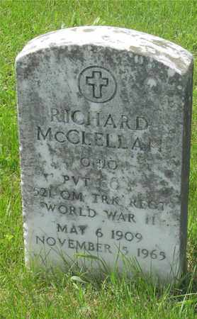 MCCLELLAN, RICHARD - Franklin County, Ohio | RICHARD MCCLELLAN - Ohio Gravestone Photos