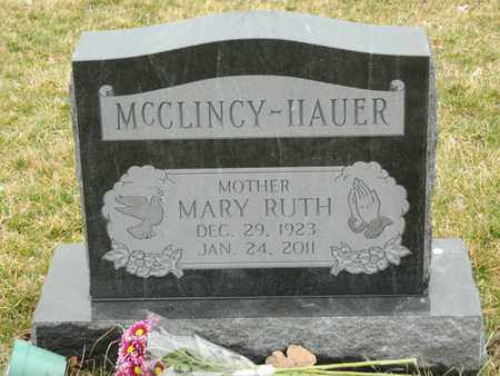 RUBADUE MCCLINCY, MARY RUTH - Franklin County, Ohio | MARY RUTH RUBADUE MCCLINCY - Ohio Gravestone Photos