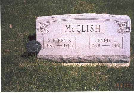 MCCLISH, JENNIE J. - Franklin County, Ohio | JENNIE J. MCCLISH - Ohio Gravestone Photos